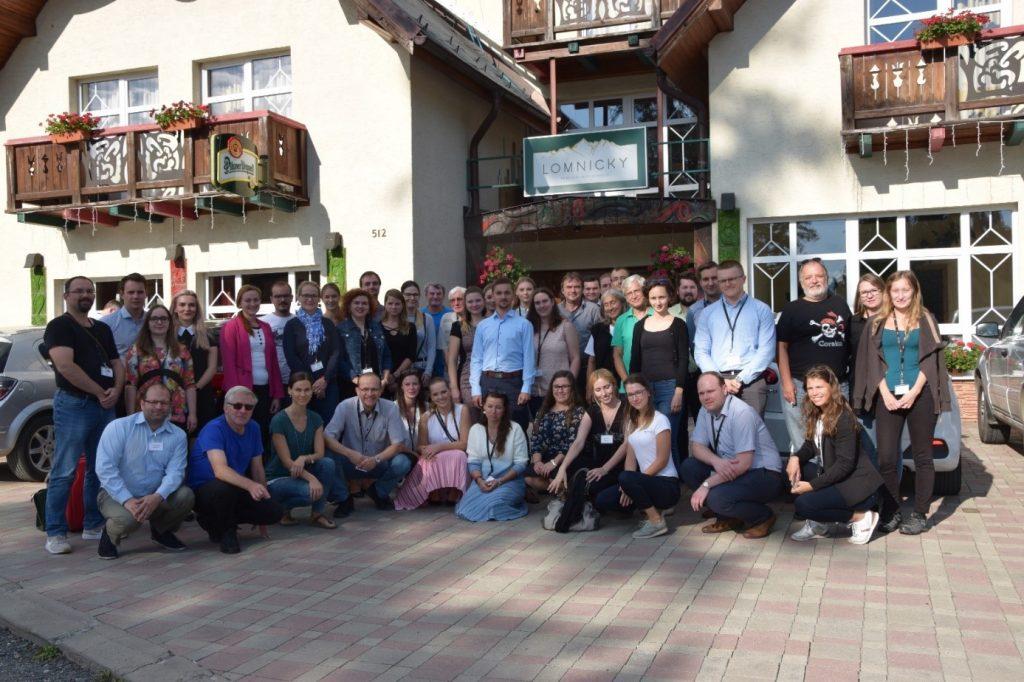 účastníci podujatia Drobnicov memoriál 2019